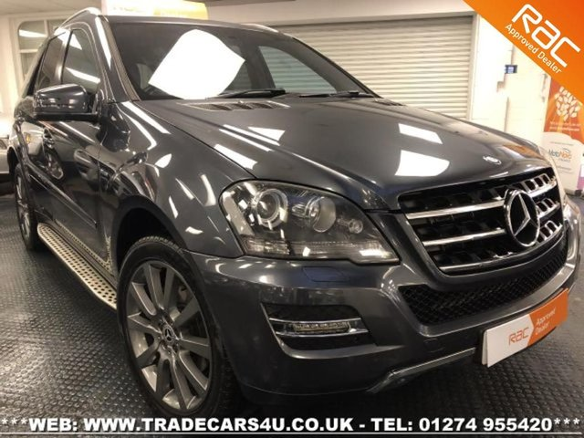 2010 60 MERCEDES-BENZ ML 300 4MATIC 4X4 BLUE F GRAND EDITION