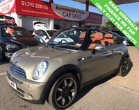 2007 MINI CONVERTIBLE 1.6 COOPER SIDEWALK CABRIOLET *ONLY 42,000 MILES* £5995.00