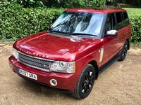 USED 2007 E LAND ROVER RANGE ROVER 3.6 TDV8 VOGUE 5d AUTO 272 BHP px swap Top spec in excellent condition, tons of history and original purchase receipt.