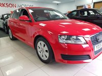 2009 AUDI A3 1.9 TDI E 5d+CAMBELT DONE+SERVICE HISTORY+£30 YEAR TAX £4290.00