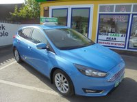 USED 2016 16 FORD FOCUS 1.5 TITANIUM TDCI 5d AUTO 118 BHP **JUST ARRIVED..**SAT NAV..**SERVICE HISTORY..**ONE OWNER FROM NEW