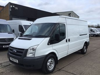 2011 FORD TRANSIT 2.2TDCI T350 LWB SEMI HIGH ROOF 115BHP. LOW 102K. FSH. £3450.00