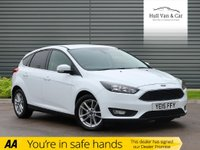 USED 2015 15 FORD FOCUS 1.6 ZETEC TDCI 5d 114 BHP AIR CON, DAB, BLUETOOTH,£20 TAX