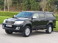 2013 TOYOTA HI-LUX 3.0 INVINCIBLE 4X4 D-4D DCB 1d AUTO 169 BHP £SOLD
