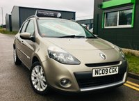 2009 RENAULT CLIO 1.1 DYNAMIQUE 16V 5 DOOR ESTATE with low mileage £2995.00