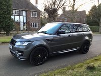 USED 2014 14 LAND ROVER RANGE ROVER SPORT 4.4 SDV8 AUTOBIOGRAPHY DYNAMIC AUTO 339BHP FLRSH. BIG SPEC. PX HUGE SPEC. 22'' ALLOYS. PAN ROOF. LOW FINANCE. PX