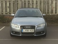 USED 2008 58 AUDI A4 CABRIOLET 2.0 T FSI SPECIAL EDITION S Line  2d AUTO 197 BHP