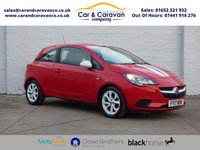 USED 2017 17 VAUXHALL CORSA 1.4 STING ECOFLEX 3d 74 BHP Service History Bluetooth Buy Now, Pay Later Finance!