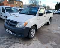 USED 2008 58 TOYOTA HI-LUX 2.5 4X2 D-4D S/C 1d 118 BHP GREAT CONDITION PICKUP
