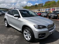 USED 2010 10 BMW X6 xDrive35d M-Sport Sunroof, camera, 20 inch alloys. Low miles 286bhp model