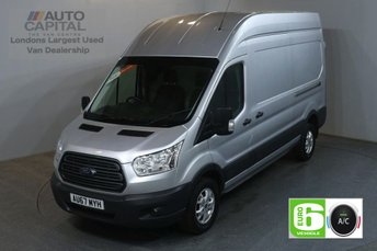 2017 FORD TRANSIT 2.0 350 L3 H3 130 BHP LWB H/ROOF TREND AIR CON EURO 6 VAN £16490.00