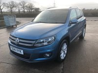 2014 VOLKSWAGEN TIGUAN 2.0 MATCH TDI BLUEMOTION TECHNOLOGY 5d 139 BHP £11995.00