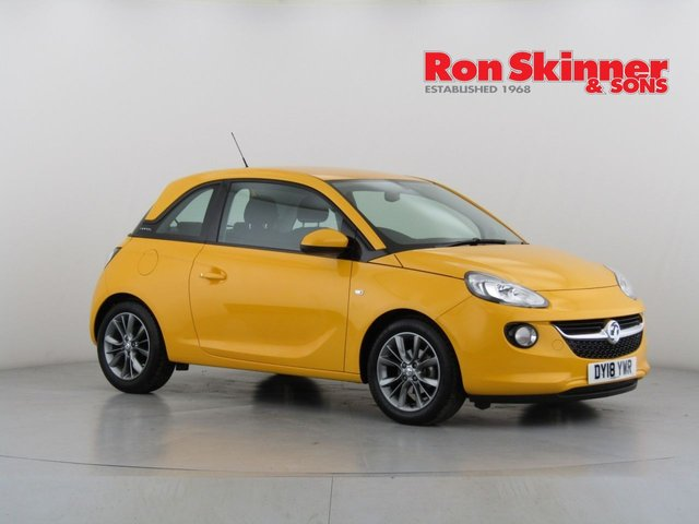 View our 2018 18 VAUXHALL ADAM 1.4 JAM 3d 85 BHP with Technical Pack