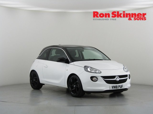 View our 2018 18 VAUXHALL ADAM 1.4 SLAM 3d 98 BHP with Technical Pack + 17in Alloys