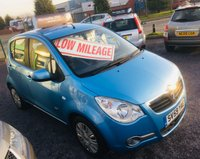 2009 VAUXHALL AGILA 1.0 CLUB 5 DOOR HATCH,  ONLY 30,000 MILES AND 1 OWNER FROM NEW £2995.00