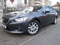 USED 2016 65 MAZDA 6 2.2 D SE-L NAV 4d AUTO 148 BHP *** FINANCE & PART EXCHANGE WELCOME *** 1 OWNER DIESEL AUTOMATIC SAT/NAV BLUETOOTH PHONE PARKING SENSORS CRUISE CONTROL DAB RADIO