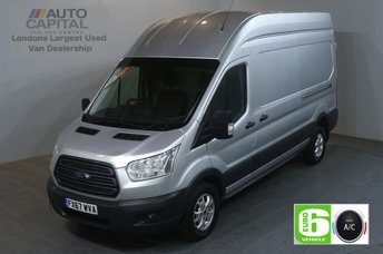 2017 FORD TRANSIT 2.0 350 L3 H3 130 BHP LWB H/ROOF TREND AIR CON EURO 6 VAN £15990.00