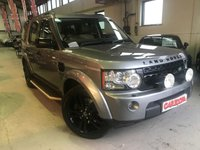 USED 2013 13 LAND ROVER DISCOVERY 3.0 4 SDV6 XS 5d AUTO 255 BHP