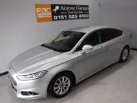 USED 2015 15 FORD MONDEO 2.0 TITANIUM ECONETIC TDCI 5d 148 BHP AMAZING CAR THIS IS THE BEST SPEC CAR I HAVE EVER ADVERTISED ITS ONE OWNER WITH FULL FORD HISTORY IN AMAZING METALLIC SILVER IT HAS KEY LESS ENTREE, DRL HEAD LAMPS, 19INCH ALLOYS ,FULL HEATED LEATHER ELEC MEMORY SEATS, ELEC FOLDING HEATED MIRRORS, CRUSE CONTROL, LANE ASSIST, SAT NAV, DAD RADIO WITH AUX, USB, SD, BLUE TOOTH PHONE PREP,