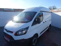 USED 2014 14 FORD TRANSIT CUSTOM 2.2 270 LR P/V 1d 99 BHP FORD CUSTOM HIGH ROOF GREAT PRICE TO CLEAR