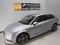 USED 2015 65 AUDI A3 1.6 TDI ULTRA SE 5d 109 BHP BEAUTIFUL CAR FINISHED IN GLEAMING ALPINE WHITE.  FULL HISTORY 4 STAMPS , THIS CAR HAS BEEN SERVICED REGARDLESS OF COST WITH SOME NICE SPECIFICATIONS, INC  CLIMATE CONTROL, ELEC HEATED MIRRORS,  18INCH UPGRADED ALLOYS ,MULTI FUNCTION LEATHER CLAD STEERING WHEEL, AUDI MULTI MEDIA SYSTEMS WITH USB AND AUX POINTS. PRIVACY GLASS,