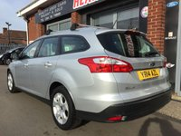 USED 2014 14 FORD FOCUS 1.6 EDGE ECONETIC TDCI 5d 104 BHP