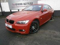2007 BMW 3 SERIES 3.0 325I M SPORT 2dr AUTO £6480.00