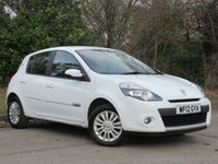 USED 2012 12 RENAULT CLIO 1.1 I-MUSIC 5d 75 BHP LOW MILEAGE STARTER CAR