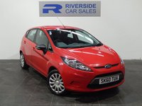 2010 FORD FIESTA 1.2 EDGE 5d 81 BHP £3500.00