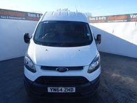 USED 2014 64 FORD TRANSIT CUSTOM 2.2 270 LR P/V 1d 99 BHP FORD TRANSIT CUSTOM HIGH ROOF PRICED TO SELL