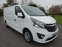 USED 2016 66 VAUXHALL VIVARO LONDON ULEZ COMPLIANT 2900 L2 SPORTIVE 1.6CDTI 120 BHP Top of Range Model Direct From Leasing Company With Only 23000 Miles & Balance Of Vauxhall Warranty Till November 2019
