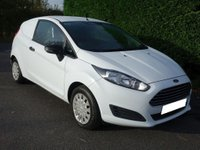 USED 2013 63 FORD FIESTA ECONETIC 1.6 TDCI 95Ps Very Clean Example Of Popular Fiesta Van, Direct From Major Lease Company With Air Con!