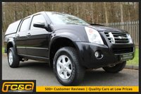 USED 2010 10 ISUZU RODEO 2.5 RODEO DENVER TD LWB D/C 135 BHP A WELL MAINTAINED ONE COMPANY OWNER PICKUP WITH REAR CANOPY!!!