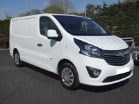 USED 2016 65 VAUXHALL VIVARO 2700 L1 SWB SPORTIVE 1.6 CDTI 115 BHP High Specification Model, Direct From Premier Leasing Company!