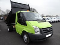 2011 FORD TRANSIT 350 MWB TIPPER 2.4 TDCI 100PS