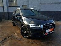 2015 AUDI Q3 1.4 TFSI S LINE 5d AUTO 148 BHP £19000.00