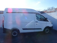 USED 2014 64 FORD TRANSIT CUSTOM 2.2 270 LR P/V 1d 99 BHP FORD CUSTOM HIGH ROOF TRADE PRICE TO SELL