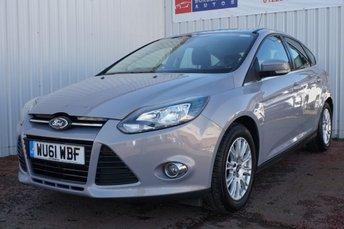 2011 FORD FOCUS 1.6 TITANIUM 5d 124 BHP £5995.00