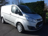 USED 2016 16 FORD TRANSIT CUSTOM 330 TREND L1 SWB 2.2 TDCI 125 BHP Direct From Leasing Company. Very Clean Example, Viewing Recommended!