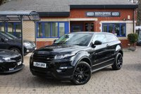 USED 2014 64 LAND ROVER RANGE ROVER EVOQUE 2.2 SD4 DYNAMIC LUX 3d AUTO 190 BHP 2 owners Full Land Rover Service History! Black pack!
