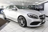 USED 2016 65 MERCEDES-BENZ A CLASS A180D AMG LINE PREMIUM AUTO 1 OWNER NAV FMBSH CAM HEATED SEATS