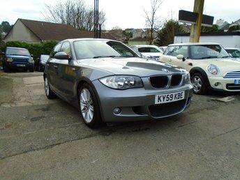 2009 BMW 1 SERIES 2.0 116D M SPORT 5d 114 BHP £3995.00