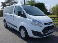 USED 2015 15 FORD TOURNEO CUSTOM 300 TREND L1 SWB 9 SEAT MINIBUS 2.0 TDCI 125 BHP Direct From Leasing Company With Full Service History, High Specification Model Including Air Con!