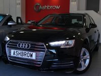 USED 2017 66 AUDI A4 AVANT 1.4 TFSI SPORT 5d 150 S/S 1 OWNER FROM NEW, FULL AUDI SERVICE HISTORY, NEW SHAPE, SAT NAV, AUDI SMART PHONE W/ APPLE CAR PLAY & ANDROID AUTO, AUDI CONNECT, DAB RADIO, CRUISE CONTROL W/ SPEED LIMITER, LED DAYTIME RUNNING LIGHTS, BLUETOOTH PHONE & MUSIC STREAMING, FRONT & REAR PARKING SENSORS, 17 INCH ALLOYS, GREY CLOTH INTERIOR, SPORT SEATS, LEATHER MULTIFUNCTION STEERING WHEEL, LIGHT & RAIN SENSORS, AUDI DRIVE SELECT, FRONT & REAR ARM RESTS, 3 ZONE CLIMATE A/C, KEYLESS START, WIRELESS LAN (WLAN), AUX INPUT, 2x USB, VAT Q