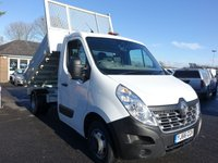 2016 RENAULT MASTER ML35 BUSINESS SINGLE CAB TIPPER 2.3 DCI 125 BHP £15995.00