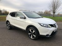USED 2015 65 NISSAN QASHQAI 1.5 DCI N-TEC 5d 108 BHP £20 Road Tax and FSH