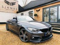 2015 BMW 4 SERIES 2.0 428I M SPORT 2d AUTO 242 BHP £21990.00