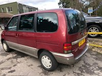 USED 2000 X NISSAN SERENA 2.3 D OCCASION 5d 74 BHP PX TO CLEAR - 7 SEATS