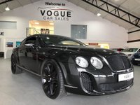USED 2006 BENTLEY CONTINENTAL 6.0 GT 2d AUTO 550 BHP