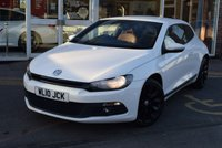 2010 VOLKSWAGEN SCIROCCO 2.0 GT 3d 211 BHP £8950.00